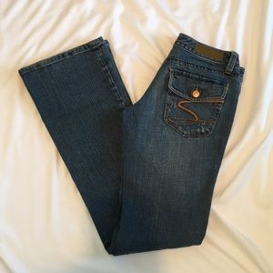 Seven7 Classic Flare Jeans Size 25